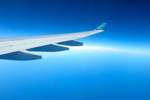 l'atlantique vu d'avion