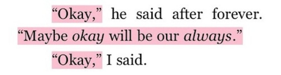 OKAY John Green Nos etoiles contraires The fault in our stars